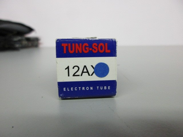 ONE (1) TUNG-SOL 12AX7 PRE-AMP TUBE, CRYOSET TREATED