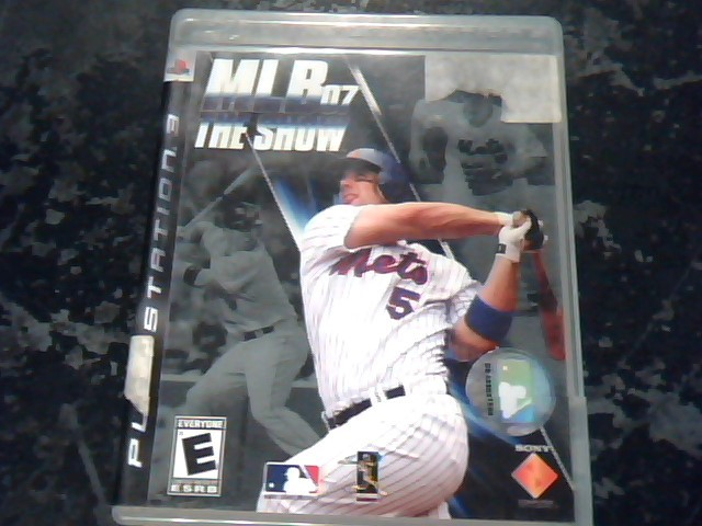 SONY Sony PlayStation 3 Game MLB 07 THE SHOW