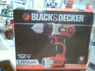 BLACK & DECKER Cordless Drill LDX112