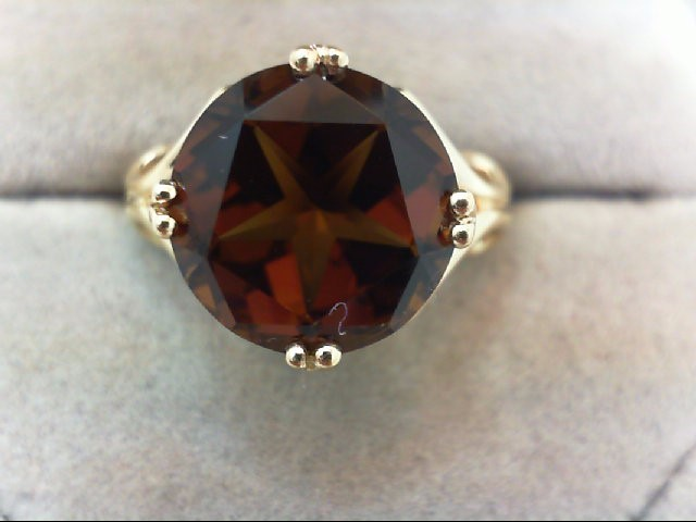 Lady's Gold Ring 14K Yellow Gold 4.2g