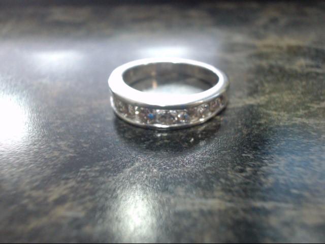 Lady's Gold Ring 14K White Gold 4.4g