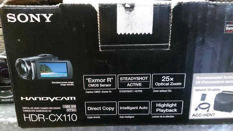 SONY Camcorder HDR-CX110