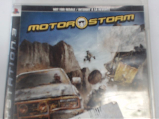 SONY PLAYSTATION 3 - MOTOR STORM