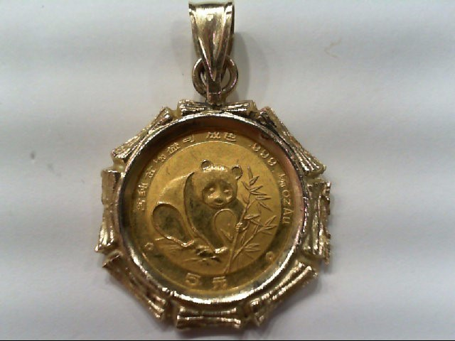 Gold Pendant 24K Yellow Gold 2.9g