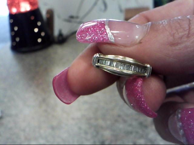 Lady's Gold-Diamond Anniversary Ring 12 Diamonds .36 Carat T.W. 10K Yellow Gold