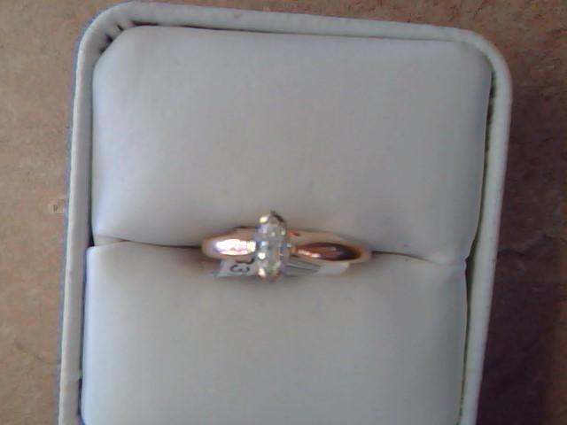 DIAMOND RING JEWELRY , 14KT, 2.0