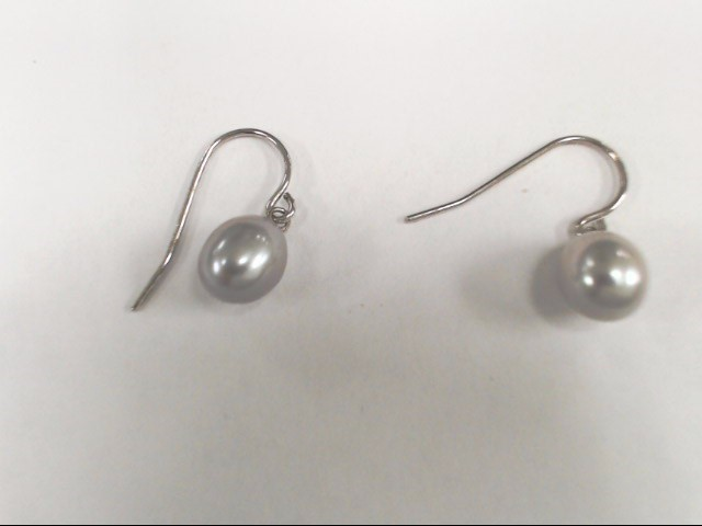 Women's Sterling Silver & Pearl Dangle Earrings