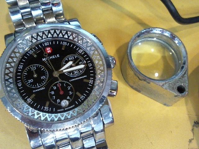 MICHELE Lady's Wristwatch TW-96 LADIES GOLD WATCH