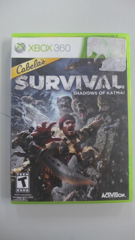 ACTIVISION Microsoft XBOX 360 CABELA'S SURVIVAL: SHADOWS OF KATMAI