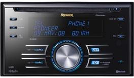PIONEER FH-P800BT AM/FM/CD RECEIVER AUTO RADIO , BLUDTOOTH/I-POD/USB 2.0/SAT RAD
