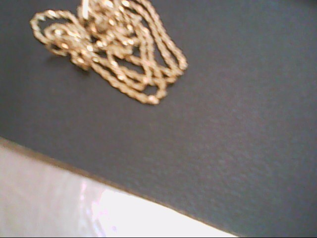 """26"""" Gold Rope Chain 14K Yellow Gold 5g"""
