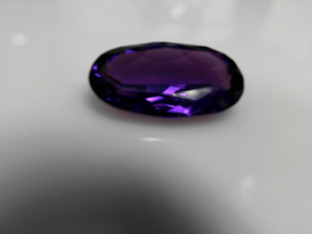 17.01cts Amethyst Oval Stone