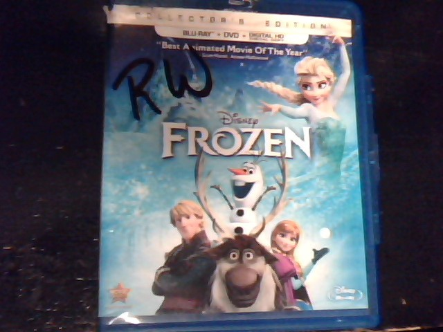 BLU-RAY MOVIE Blu-Ray DISNEY FROZEN