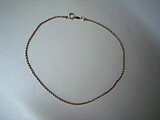 Gold Bracelet 14K Yellow Gold 2.1g