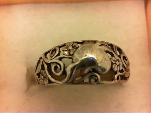 Lady's Silver Ring 925 Silver 2.6g