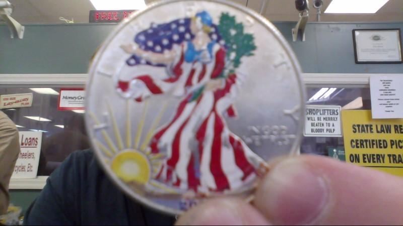 UNITED STATES Silver Coin EAGLE - AMERICAN SILVER EAGLE - 1986 TO PRESENT