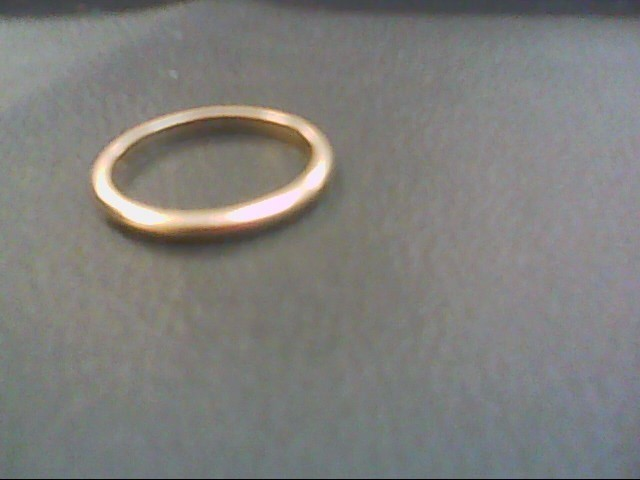 Lady's Gold Ring 14K Yellow Gold 1.5g Size:6