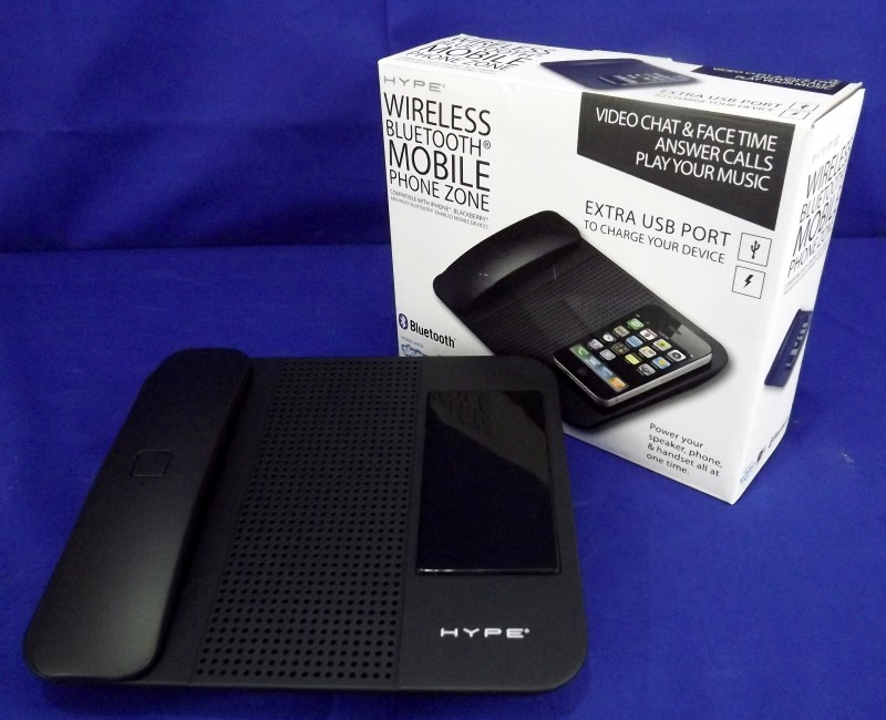 HYPE HY-101 WIRELESS BLUETOOTH HANDSET SPEAKER WITH MICROPHONE