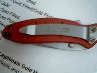 SNAP-ON/KERSHAW KNIFE 162ORDSO