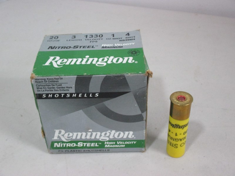 REMINGTON FIREARMS Ammunition NITRO-STEEL HIGH VELOCITY MAGNUM