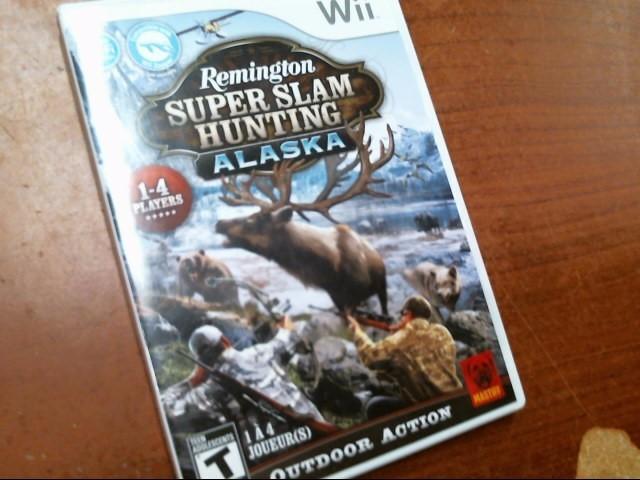 NINTENDO WII SUPER SLAM HUNTING ALASKA