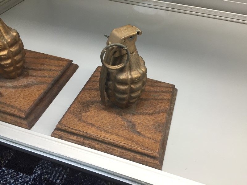 KOREAN WAR GRENADE(INERT)