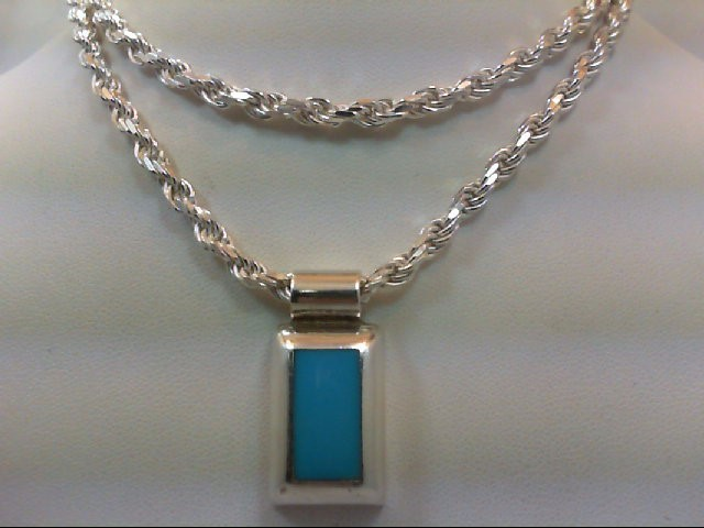 Silver Pendant 925 Silver 37.7g