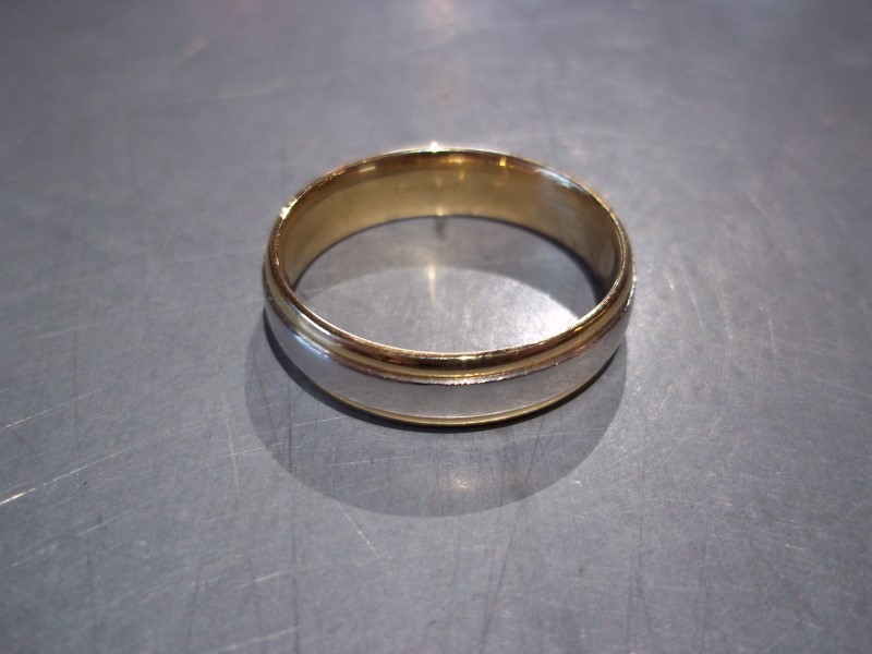 Gent's Platinum Wedding Band 950 Platinum 8.7g