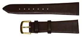 HADLEY ROMA WATCH BAND 712 18R BROWN