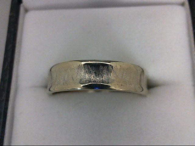 Gent's Gold Ring 14K White Gold 4.1g