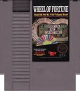 NINTENDO NES WHEEL OF FORTUNE VIDEO GAME