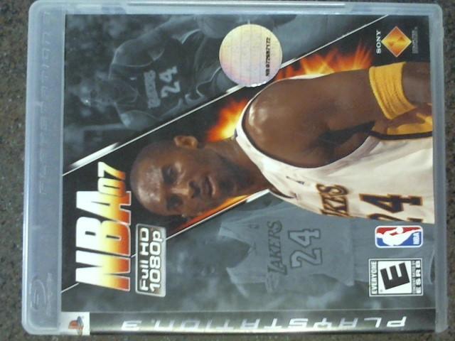 SONY Sony PlayStation 3 PS3 NBA07