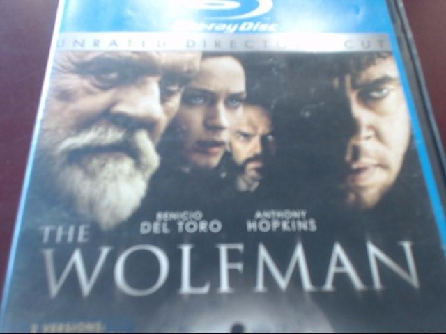 THE WOLFMAN - BLU-RAY MOVIE