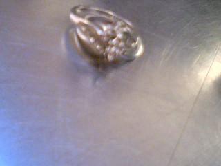Lady's Diamond Wedding Set 13 Diamonds .15 Carat T.W. 10K White Gold 4.67g