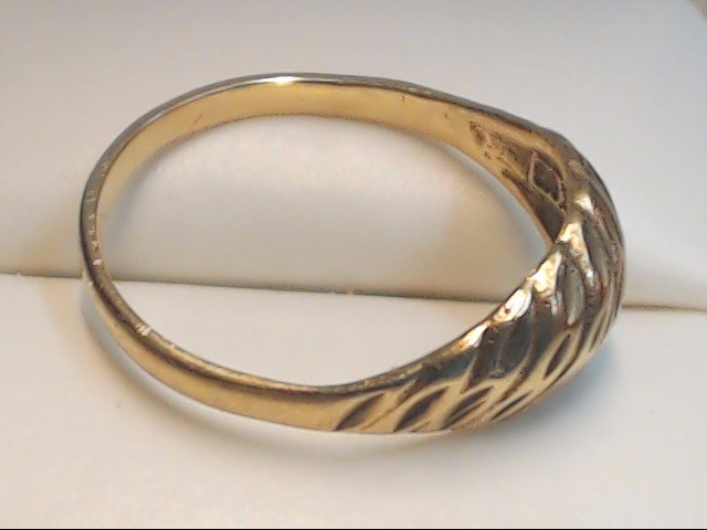 Lady's Gold Ring 10K Yellow Gold 1.8g Size:8
