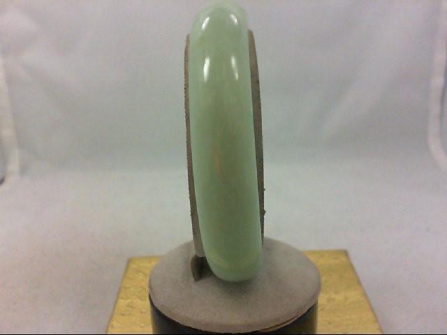 green jade like stone bracelet