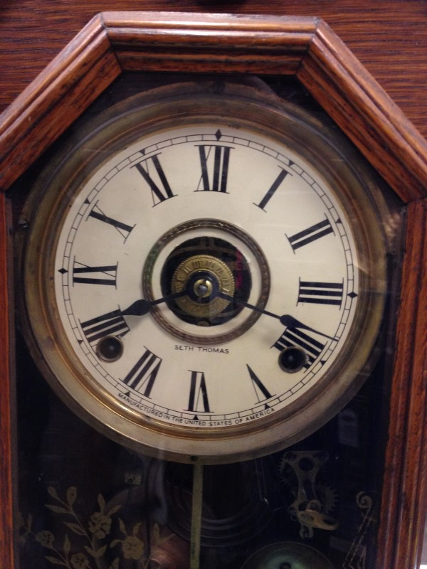 Seth Thomas Wood Vintage Clock 298