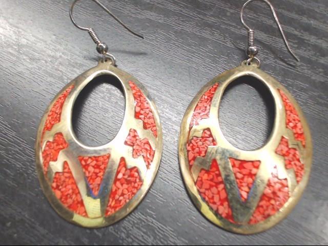 Silver Earrings 925 Silver 10.4g