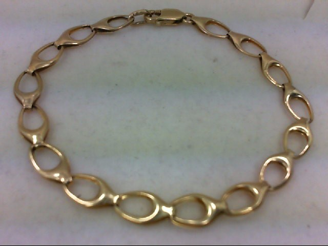 Gold Bracelet 14K Yellow Gold 4.9g