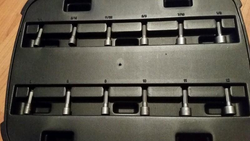 HUSKY Mixed Tool Box/Set 92 PIECE SET