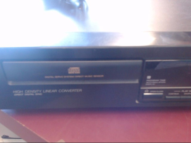 SONY CD Player & Recorder CDP-397