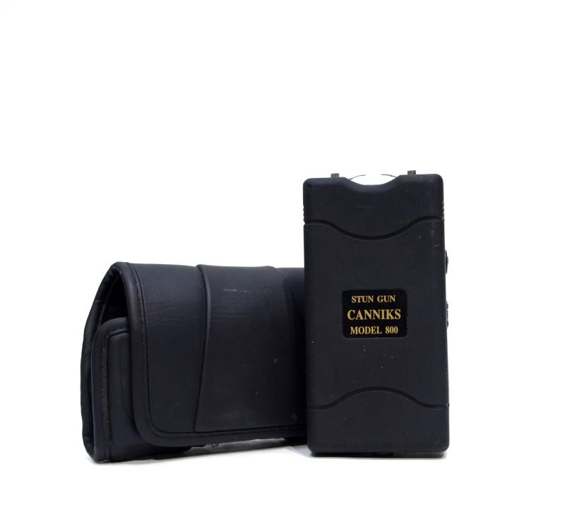 CANNIKS MODEL 800 STUN GUN - BLACK *Free Shipping*