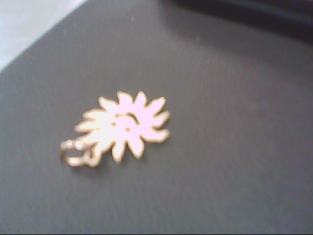 Gold Pendant 14K Yellow Gold 1.4g