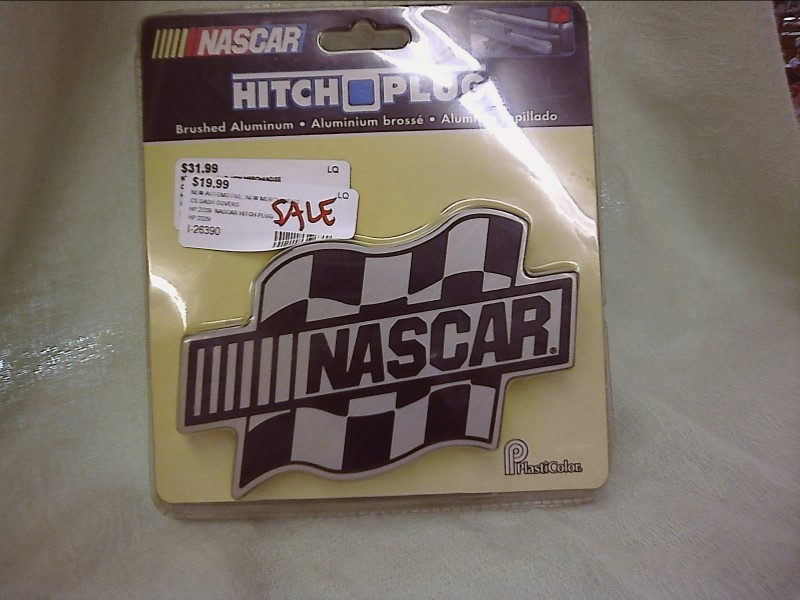 MISC NEW MISC NEW MISC CS DASH COVERS HP:2229; HP:2229  NASCAR HITCH PLUG