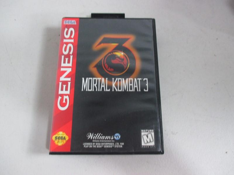 MORTAL KOMBAT 3 GENESIS GAMES