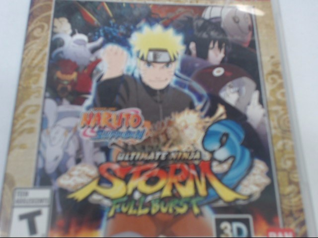 SONY PS3 ULTIMATE NINJA STORM 3 FULL BURST