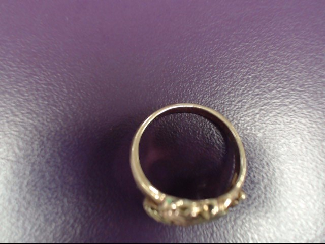 Lady's Gold Ring 10K Yellow Gold 3g Size:5