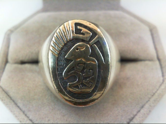 Gent's Silver Ring 925 Silver 21.3g