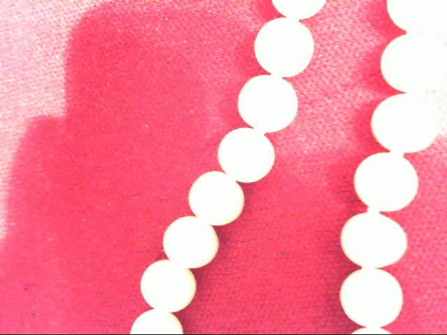 "17"" Pearl Strand Stone Necklace 3g"