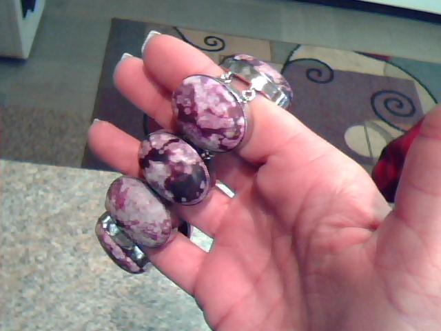 Jasper Silver-Stone Bracelet 925 Silver 63.1dwt